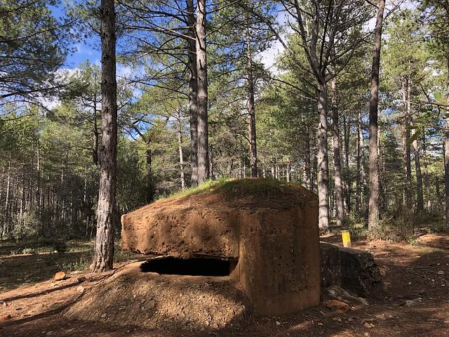 Ruta Frente del agua por los búnkeres de la Guerra Civil española en Sierra Norte de Madrid