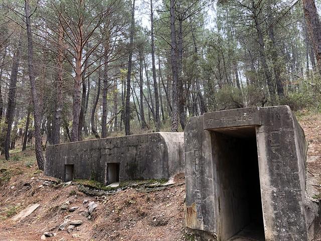 Cuartel General del bando nacional en el Frente del Agua (Paredes de Buitrago, Sierra Norte de Madrid)