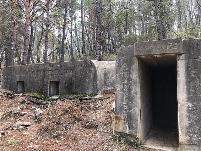 Búnker en la Sierra Norte de Madrid (Paredes de Buitrago)