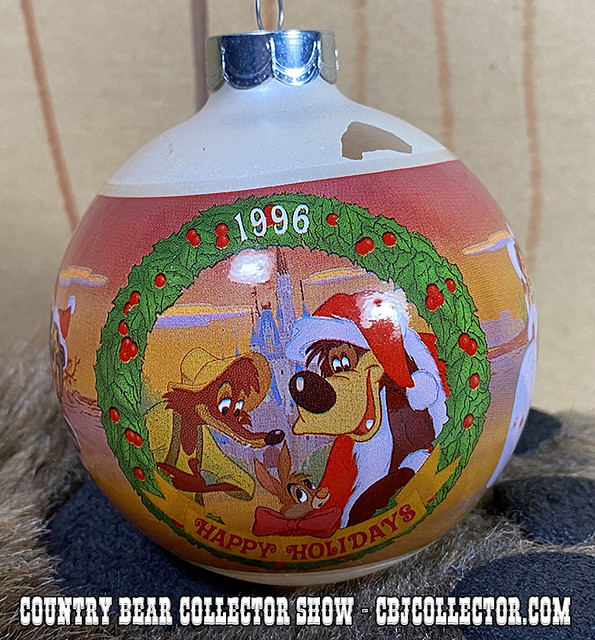 1996 Walt Disney World Frontierland Christmas Ornament - CBCS #232