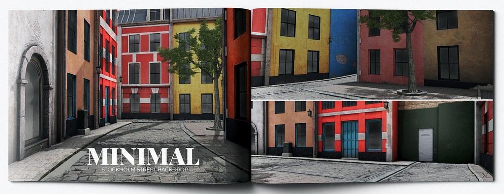MINIMAL – Stockholm Street Backdrop