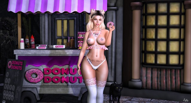 Will do naughty things for a donut.
