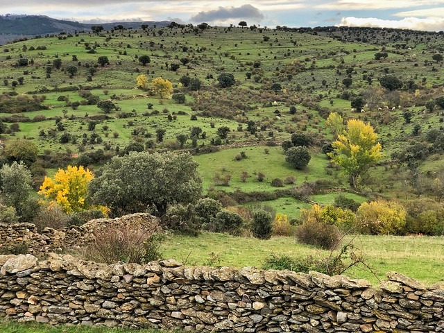 Paisaje en Paredes de Buitrago (Sierra Norte de Madrid)