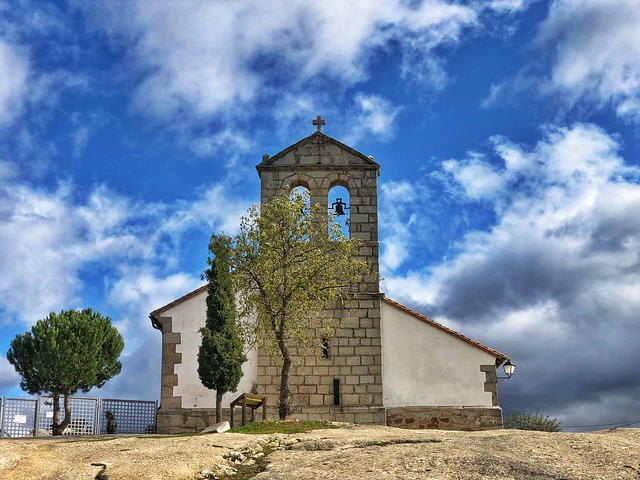 Iglesia en Sieteiglesias (Sierra Norte de Madrid)