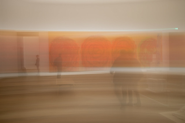Temple of Art in Munich - Museum Brandhorst with abstract paintings of late artist Cy Twombly