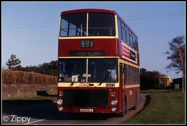Merseybus - 0072 A154HLV