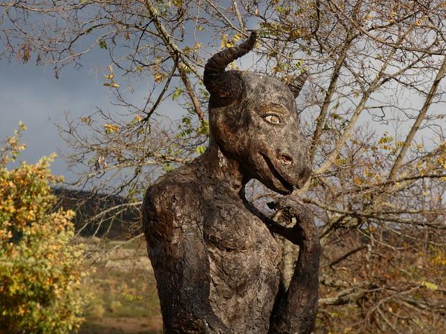 Escultura de la Sierra Norte de Madrid