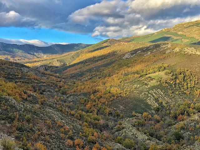 Paisaje cercano a Puebla de la Sierra (Madrid)
