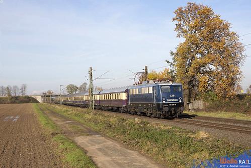 110 278 . Centralbahn . Bornheim , Sechtem . 24.11.19.