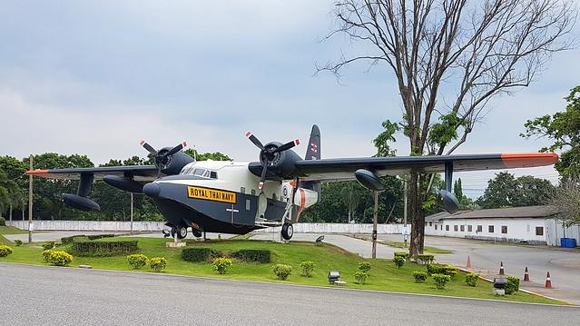 Grumman HU-16B Albatross c/n G-232 Thailan Navy serial 1265 code 151265 Preserved at U-Tapao Airport