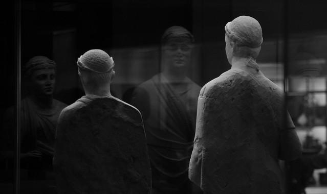 Reflections ! British Museum