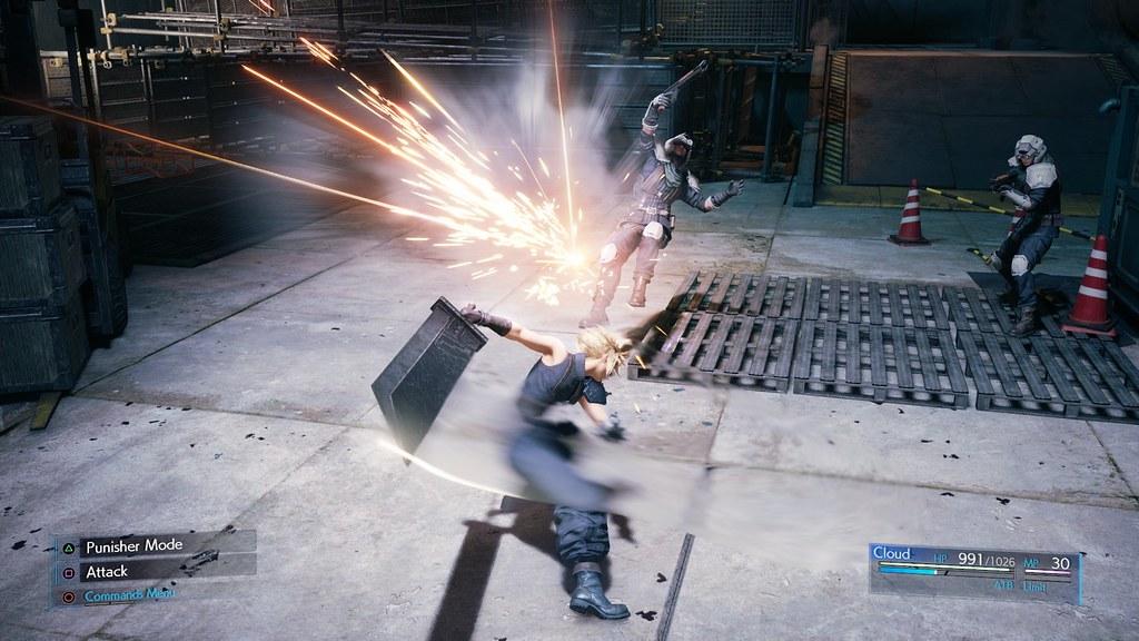 49118747638 7988962db9 b - Neue Bilder vom Final Fantasy VII Remake zeigen Cloud, das Kampfsystem und mehr