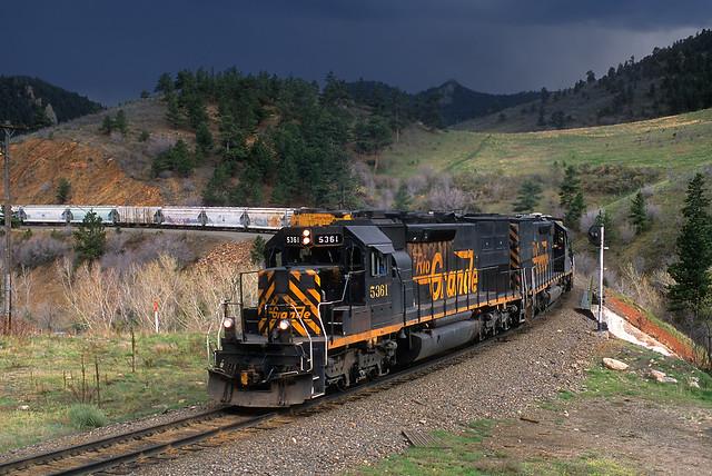 Thundering at Coal Creek Canyon