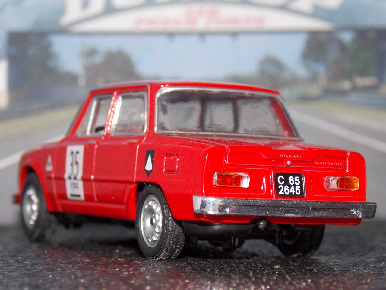 Alfa Romeo Giulia Ti Super – 1963