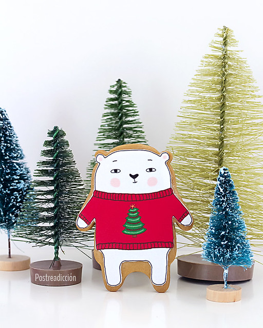 papel azucar navidad
