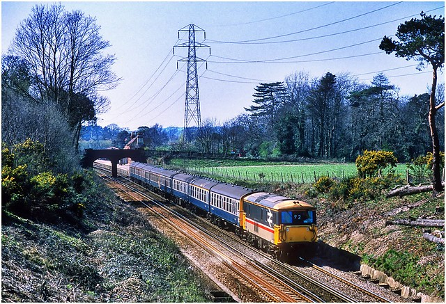Semi fast on the Bournemouth line