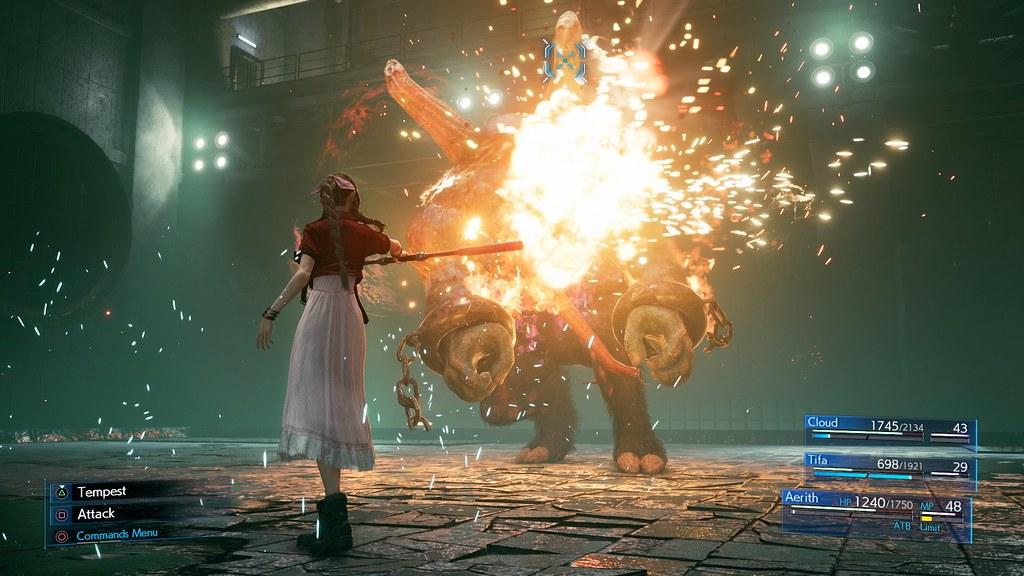 49119447367 67205373e7 b - Neue Bilder vom Final Fantasy VII Remake zeigen Cloud, das Kampfsystem und mehr