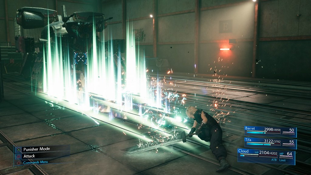 Final Fantasy VII Remake sur PS4