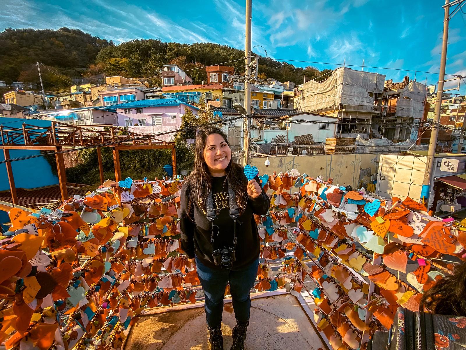 Heart Locks | Gamcheon Culture Village