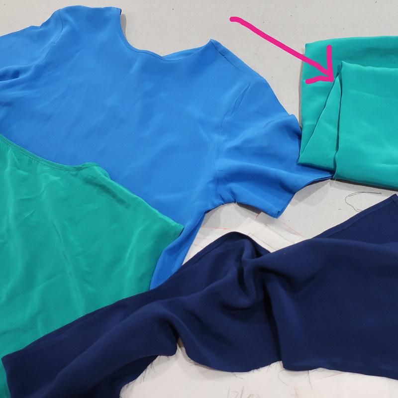 Green shirt fabrics