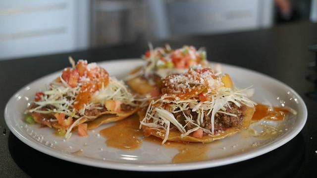 Honduran Enchiladas from El Rincon Catracho 2 in Des Moines, Iowa