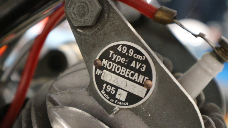 Motobecane type AV3 49.9 Cm3 1951 - Moto Legende 2019 -  49119550158_5b4b248920_c