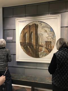 RoeblingM_painting of Brooklyn Bridge-0473
