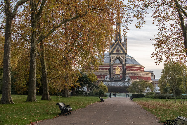 The Albert Memorial - Hyde Park, London, England, United Kingdom