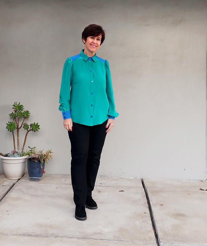green shirt 6