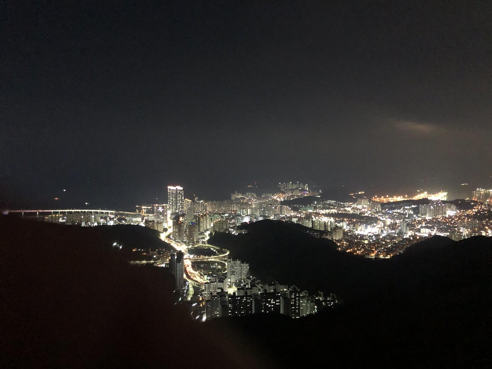 Hwangnyeongsan Mountain Night View