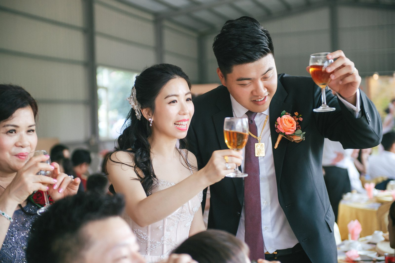 【婚攝】Denny & Persephone / 大溪笠復威斯汀 / 小橋流水餐廳