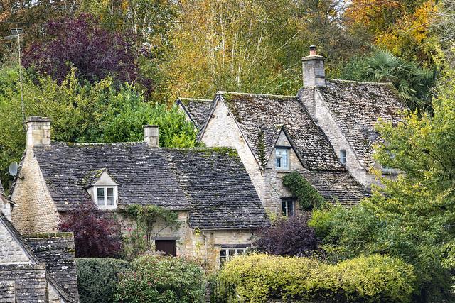Houses - Bibury, Gloucestershire, England, United Kingdom