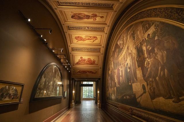 Victoria and Albert Museum Hallway - London, England, United Kingdom