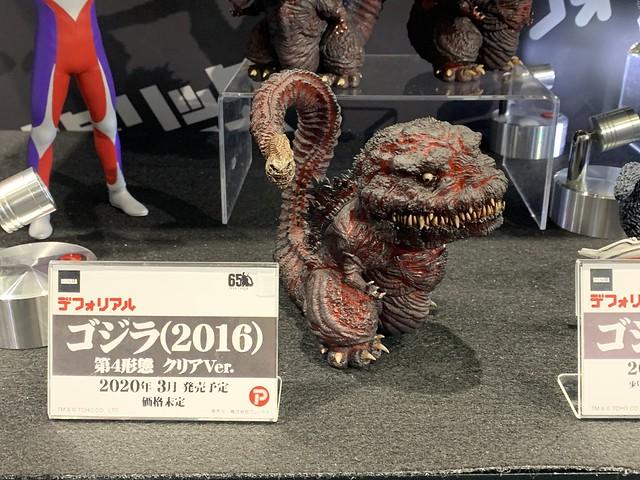【TOKYO COMIC CON 2019】X-PLUS 展出《哥吉拉》、《假面騎士》、《超人力霸王》...多款新作商品原型!