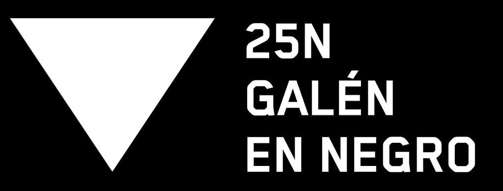 25N GALÉN EN NEGRO LOGO