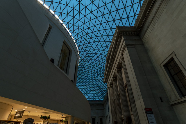 British Museum Interior - London, England, United Kingdom