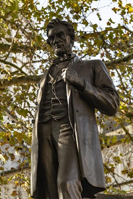 Abraham Lincoln Statue - London, England, United Kingdom