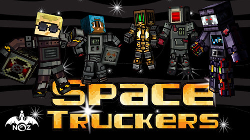 spacetruckers_MarketingKeyArt | by minedragnoz