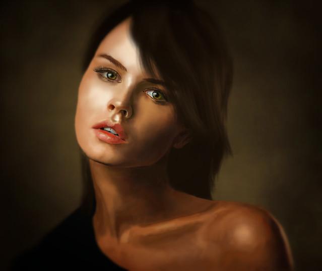 Anastasia {painting}