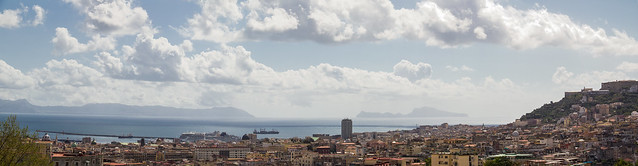 Italy - Napoli - View from Capodimonte