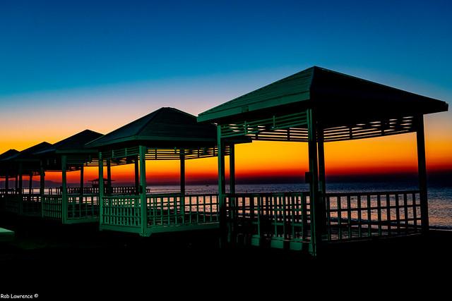 Sunrise Lara Beach Turkie .