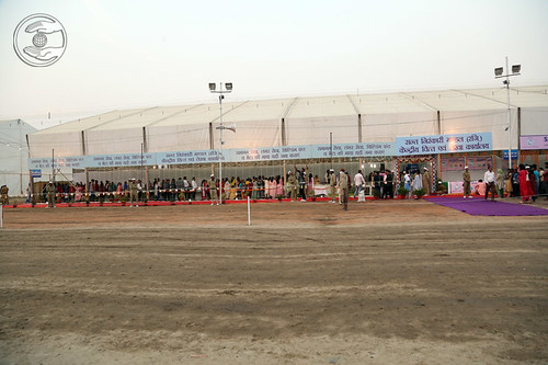 A view of various department at Samagam Grounds