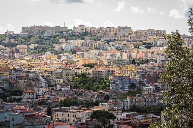 Italy - Napoli from Capodimonte