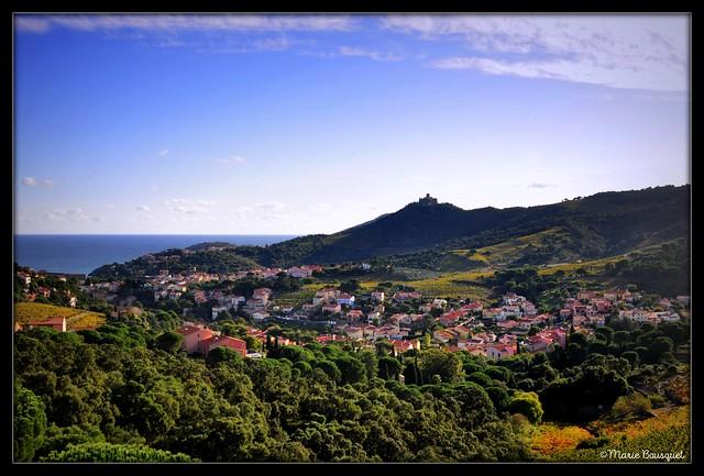 Arrivée sur Collioure