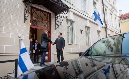 Soome parlamendi esimees Matti Vanhanen, 25.11.2019