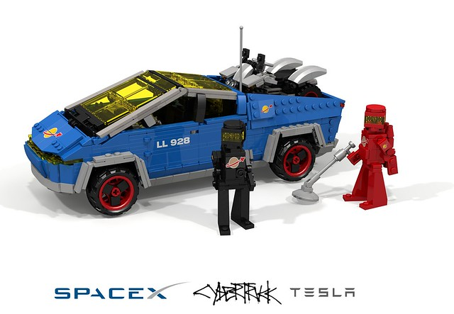 Telsa SpaceX CyberTruck