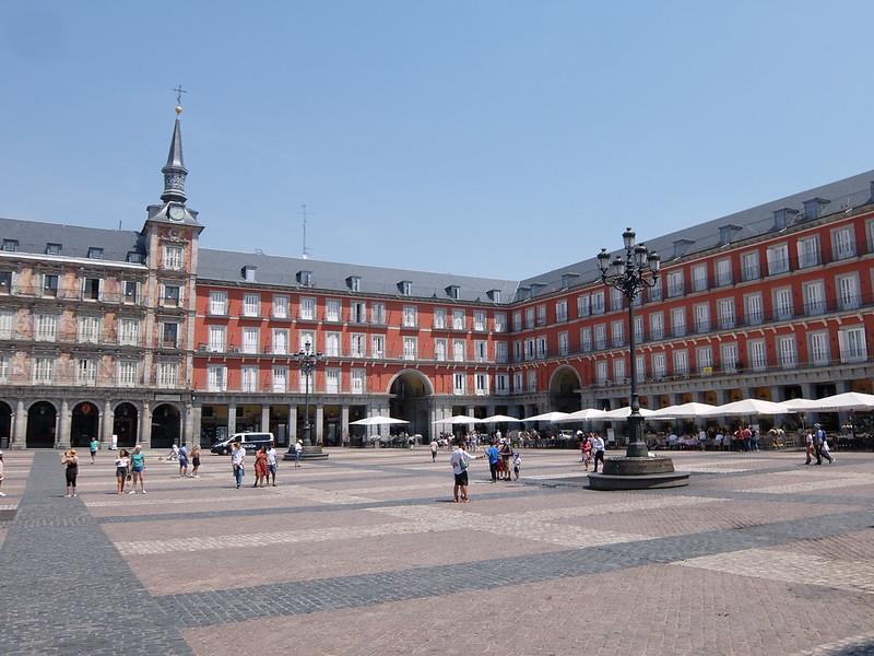 Мадрид - На площади Пласа-Майор
