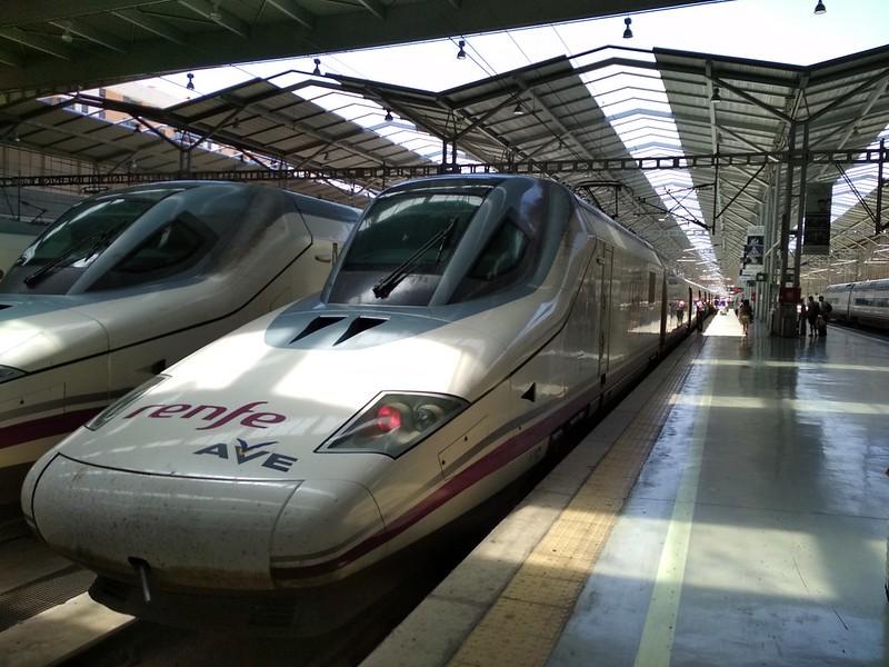 Мадрид - Поезд RENFE