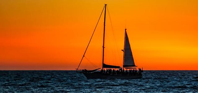 tropical island sunset cruise__