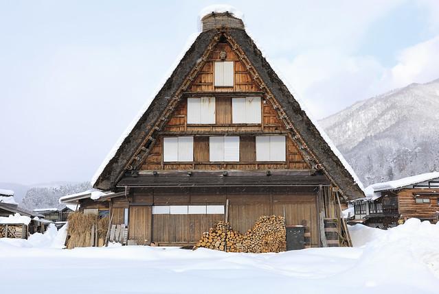 Shirakawa mountain village, northern Gifu Prefecture,Japan